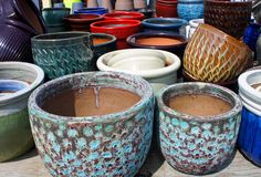 There are tons of cool Ceramic pottery at Flowerland that is 25% off regular price!