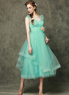 025720072f Winter wear decent Bridesmaid Dress taboo no stunts Vestidos Verde Menta De  Dama De Honor