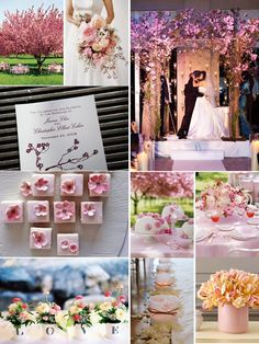 Cherry blossom wedding wedding-inspiration