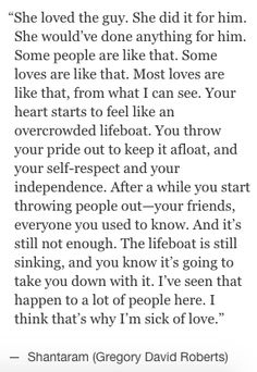 Love can be more than beauty it is also a vulnerable, soul destroying and fantastic. This analogy is one of my favourites. <3