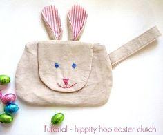 Tutorial: Hippity Hoppity Easter Clutch