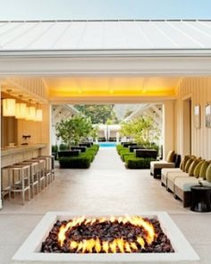 The resort is known as a more modern, hip alternative to a traditional Napa stay. #Jetsetter