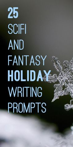 If you're in the holiday spirit, these holiday writing prompts will help light a fire of creativity that you can later use for your yule log or menorah. These are neat ideas if you are struggling for inspo