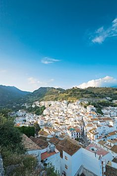 Casares, one of the nice white villages in Andalucía, Spain. http://www.costatropicalevents.com/en/costa-tropical-events/andalusia/welcome.html