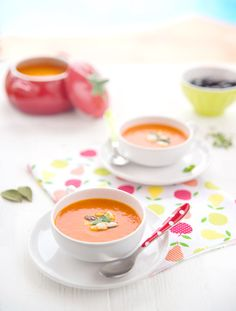 tomato with olives and feta cold soup