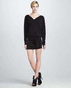 Haute Hippie Matte Jersey Dress - Neiman Marcus