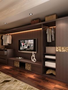 Bedroom Wall Units for Storage Best Of Modern Closet Bedroom Closet Design Remodel Bedroom Tv Cabinet, Bedroom Wall Units, Bedroom Tv Stand, Bedroom Cabinets, Tv In Bedroom, Bedrooms, Master Bedroom, Trendy Bedroom, Bedroom Ideas