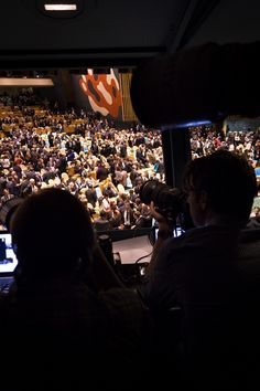 Inside the Press Box at the UN General Assembly- United Nations Blog   Updates from the social media team   Page 2