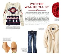 """Winter Wanderlust with American Eagle: Contest Entry"" by katsin90 ❤ liked on Polyvore featuring American Eagle Outfitters, Stop Staring!, Avenue and aeostyle"