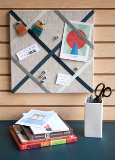 Finished Pin Board and Number Pins M&J Trimming Home Crafts, Diy Home Decor, Arts And Crafts, Diy Crafts, Room Decor, Paper Cards, Diy Projects To Try, Creative Crafts, Cool Diy