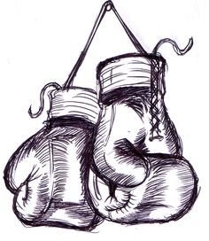 Here is my version of the hanging gloves design i had a limited time to do them, a friend wanted me to tattoo boxing gloves on his chest and i had half . My boxing gloves rough design Boxing Gloves Drawing, Boxing Gloves Tattoo, Boxing Tattoos, Kickboxing, Tattoo Drawings, Art Drawings, Love Drawings, Arte Hip Hop, Boxing Girl