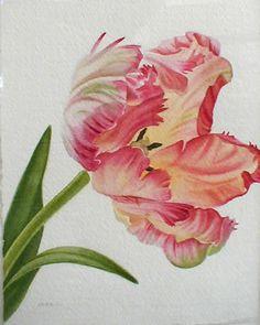 Parrot Tulip - tattoo inspiration.