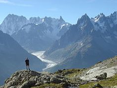 Tour du Mont Blanc France.  I have to do this one day!