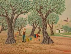 Naïve Art and Italian Culture - Genre scenes and landscape painting in Italy. ArtistDaily