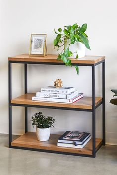 Living Room Bookcase, Living Room Furniture, Home Furniture, Living Room Decor, Dining Room, White Room Decor, Guest Bedroom Decor, Home Office Closet, Home Office Organization