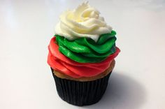 End with a swirl of White Buttercream Frosting