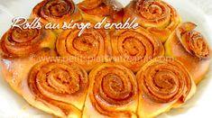 rolls-au-sirop-d'érable Four, Apple Pie, Desserts, Pastries, Brioche, Morning Breakfast, Bakery Business, Tailgate Desserts, Deserts