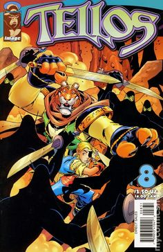 Tellos (1999 Image) 8C Image Comics book covers Modern Age