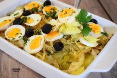 Bacalhau à Gomes de Sá - Chef Luís Machado Ramen, Seafood, Ethnic Recipes, Salads, Axe, Cod, Noodle, Easy Trifle Recipe, Ethnic Food