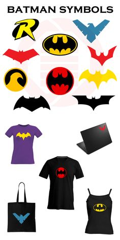 4ae2d748 Superhero SVG clipart Batman Robin logo symbol vector birthday gift  printable wall art decal Batgirl Red hood Nightwing Ninja download