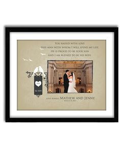 Parents of the Groom Gift Personalized by GoodNightOwlDesigns, $36.00
