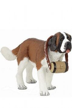 Papo Saint Bernard at theBIGzoo.com, a family-owned gift shop with 12,000+ animal-themed items.