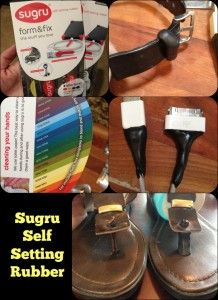 Sugru Self Setting Rubber I used for many fixes!