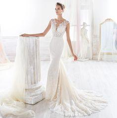 Fashion bride 2018 - Collection NICOLE. NIAB18132. Wedding Dress Nicole.