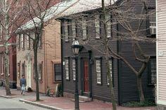 Benefit Street, Providence RI
