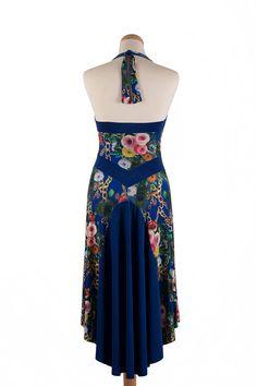 Tango Dress with Rich Tail Argentine Tango Dress Milonga