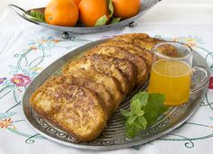 Torrijas Cremosas de Naranja - La Cocina de Frabisa La Cocina de Frabisa Spanish Food, Spanish Recipes, French Toast, Pork, Yummy Food, Dinner, Breakfast, Desserts, Crepes