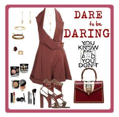 """""""To Dare"""" by mary-kay-de-jesus on Polyvore featuring John Galliano, Etro, Gucci, Fragments, EF Collection, David Yurman, Delfina Delettrez, Jules Smith, Christopher Kane and Chanel"""