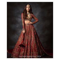 Raw Silk Lehenga, Red Lehenga, Bridal Lehenga, Lehenga Choli, Shraddha Kapoor Lehenga, Lehenga Style, Indian Celebrities, Bollywood Celebrities, Bollywood Girls