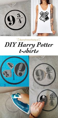 Maak je eigen Harry Potter shirt [DIY] – Magical Mischief