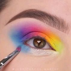 Glam Eye Make-Up Tutorials! - Glam Eye Make-Up Tutorials! Makeup Eye Looks, Eye Makeup Art, Beautiful Eye Makeup, Eye Makeup Tips, Makeup Videos, Eyeshadow Makeup, Glam Makeup, Makeup Products, Makeup Hacks