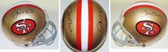 AAA Sports Memorabilia LLC - Joe Montana and Jerry Rice Autographed San Francisco 49ers Authentic Full Size Proline Helmet, $599.95 (http://www.aaasportsmemorabilia.com/nfl/joe-montana-and-jerry-rice-autographed-san-francisco-49ers-authentic-full-size-proline-helmet/)