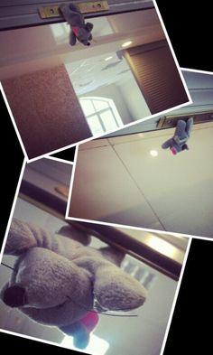 Вот так мышка-бэтмен летает у нас по офису ))