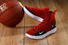 best sneakers 108b7 e62a6 Delicate Nike Zoom KD 11 EP October Red Black White Men s Basketball Shoes  Kevin Durant Sneakers