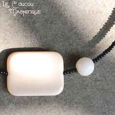 Girocollo Black and White - Linea Satelliti - C.41.2015 , by Le coucou magnifique, 10,00 € su misshobby.com