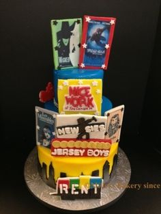 broadway themed sweet 16 - Google Search