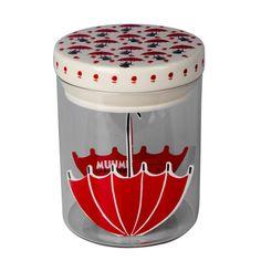 Moomin Little My glass jar