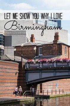Let Me Show You Why I Love Birmingham! // England // a City Walk