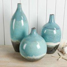 Set of Three Oslo Vases