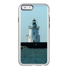 "Cleveland OH Lighthouse Incipio Case Personalize your own iPhone case on Zazzle! Click the ""Customize"" button to insert your own artwork, design, or pictures to make a one of a kind case. Try adding text using great fonts and preview your design! This easy to customize iphone 6 case has no minimum order and is made after you order. Browse and read customer reviews below detail of product page…"