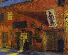 History of Art: Mstislav Dobuzhinsky
