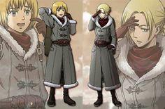 Aot winter coats