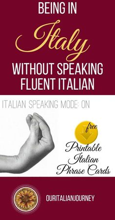 Fun Learning Games, Italian Phrases, Things To Do In Italy, Know It All, Learning Italian, The Beautiful Country, Don't Speak, Visit Italy, Travel Companies