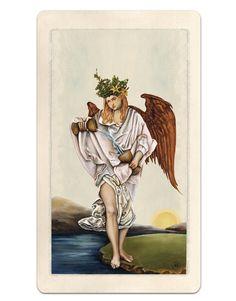 14 / Temperance / Pagan Otherworlds Tarot