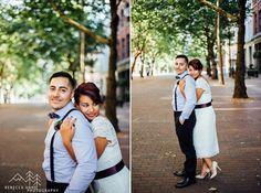 Downtown Seattle Courthouse Elopement // Eva & Ruben » Tacoma Seattle Wedding Photographer, Rebecca Anne Photography.
