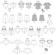 """Clothes For 18"""" (46cm) Doll"""